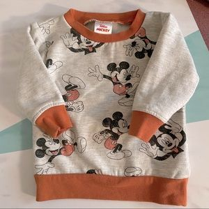 Mickey Mouse 18m pullover sweatshirt
